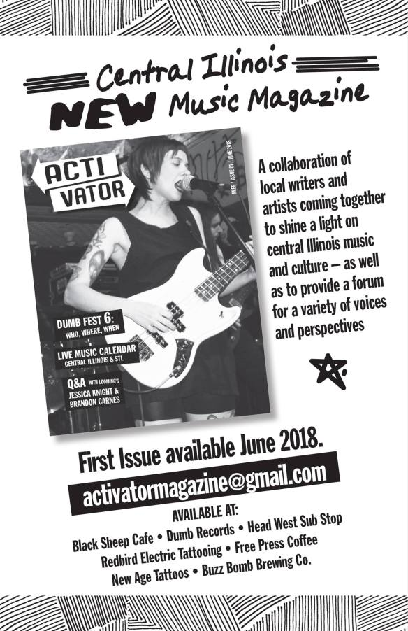 New* Activator Magazine Coming To Springfield New Month