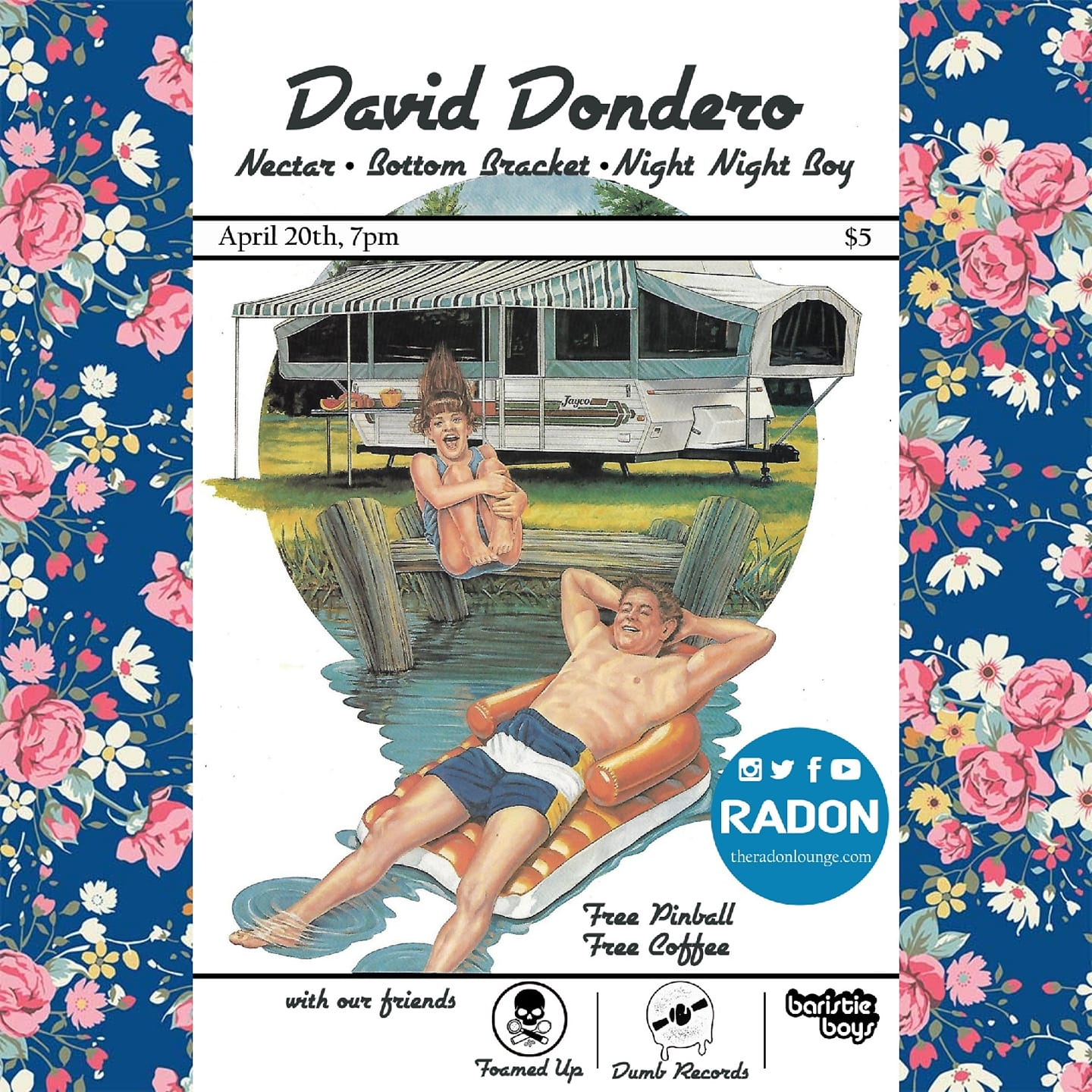 Tonight at The Radon Lounge: David Dondero, Nectar, Bottom