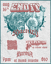 End it Flyer for Instasmall